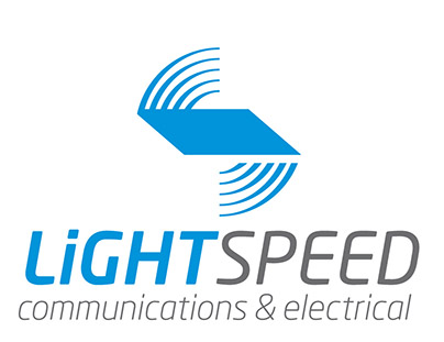 Lightspeed Communications & Electrical logo